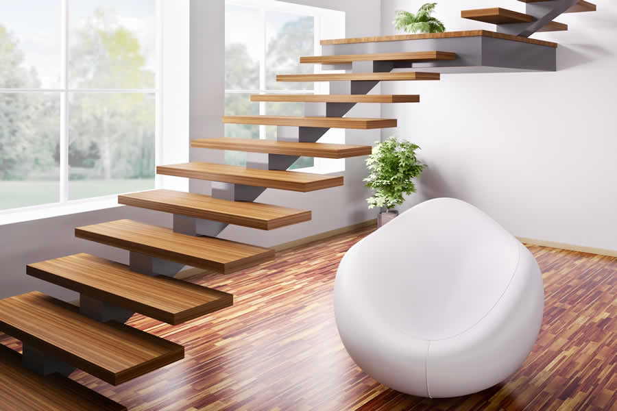 Stairs Included In Prefabricated Buildings