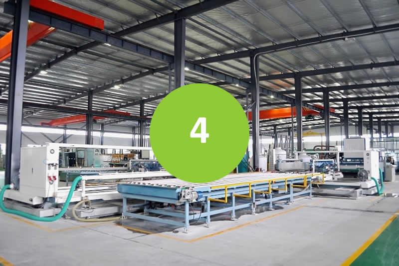 Prefabricated Buildings - Step 4 - Manufacturing process begins